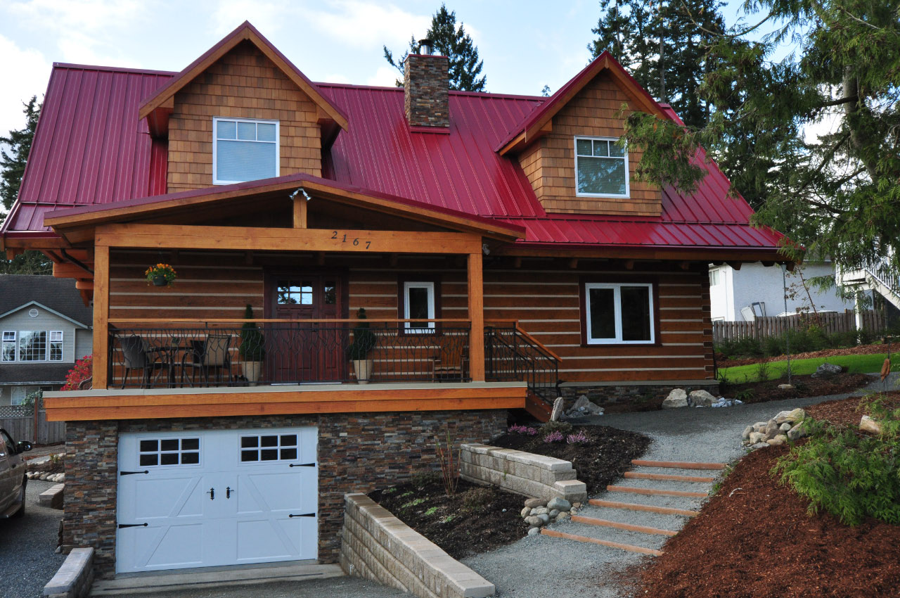 Affordable log homes cottages and cabins from vancouver for Cabin and cottage kits