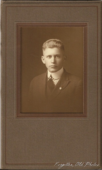 Forrest Pommier Grad photo DL Antiques