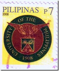 UP Centennial on Philippine stamps