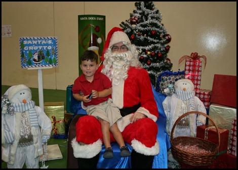 Cameron & Santa