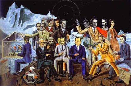 Max Ernst - A Friends' Reunion (Au Rendez-vous des amis)