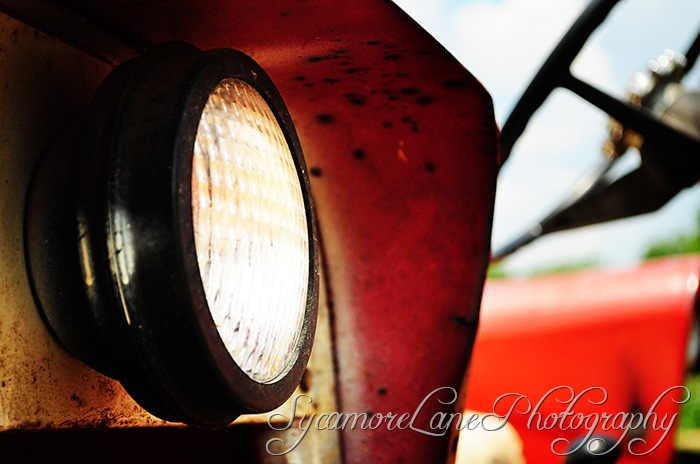 tractor headlight-w
