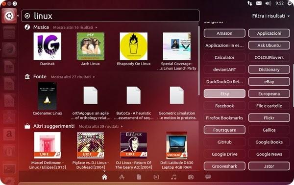 Ubuntu 13.10 con Unity 7.1
