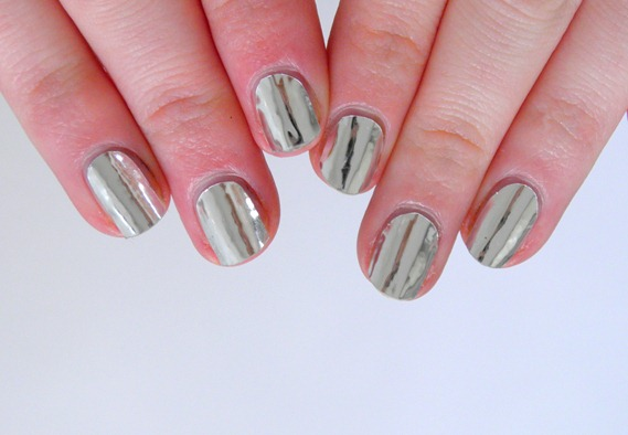 SILVER NAIL FOILS 7