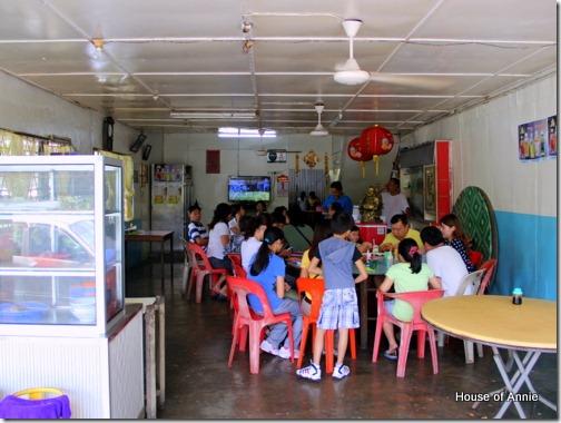 Inside Jit Hin Restaurant, Tebakang