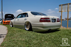Infiniti Q45 sitting on SSR Professor MS3