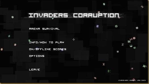 Invaders Corruption タイトル