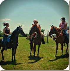 Corie, Christine and I