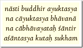 [Bhagavad-gita, 2.66]