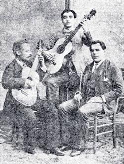 Breva, maestro Jonjana y Paco de Lucena Heraldo 1916 (Gazapera)