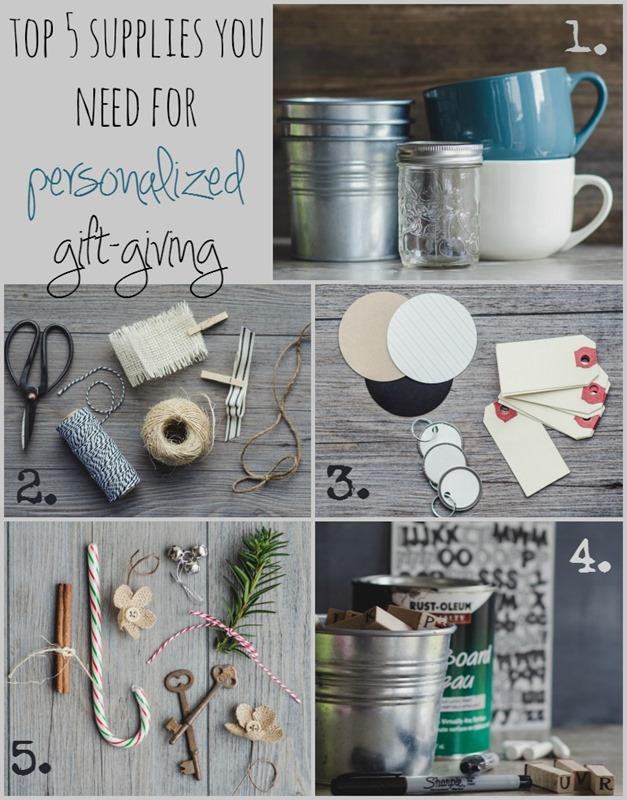 5 Supplies You Need for Personalized Gift-Giving | personallyandrea.com