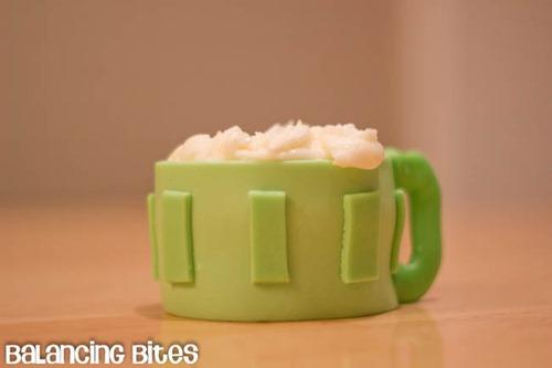 St. Patrick's Day Beer Mug Cupcake