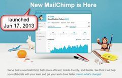 The new MailChimp