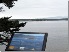 Schoodic Peninsula ride on a cloudy day