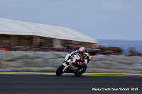 Troy Corser is a blur