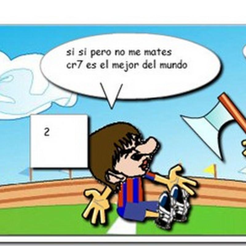Crea divertidas viñetas de futbol