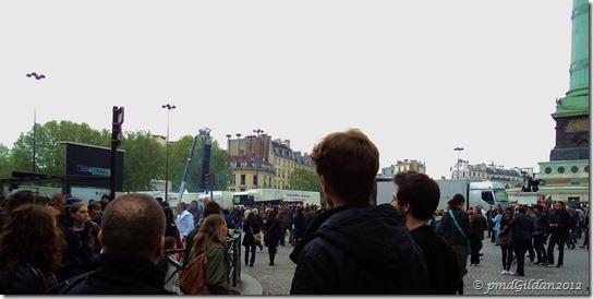 Bastille vers 18h