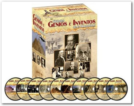 GRANDES GENIOS E INVENTOS DE LA HUMANIDAD [ Video DVD ] – Aprender de las mentes y los descubrimientos que cambiaron la historia del mundo