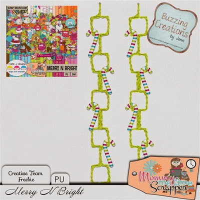 MMTS & TJD - Merry N Bright - Freebie Preview