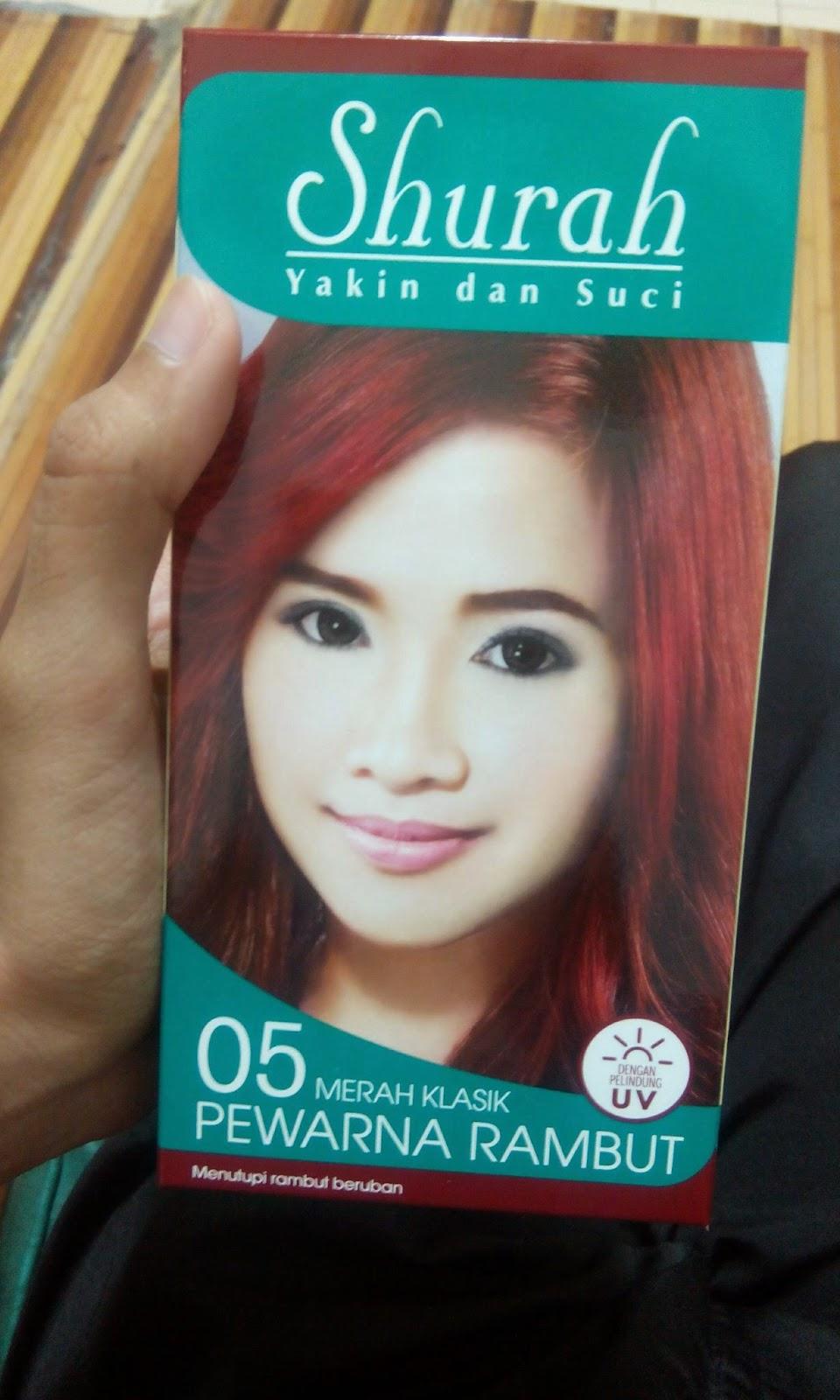 My Fantasy Life Pewarna Rambut Merah Klasik Syurah