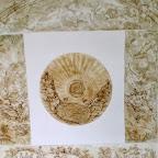 """Illustration de """"Les plantes et le feu"""" symposium tenu à Salagon , préfacé par Pierre Lieutaghi."""