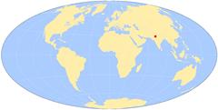 world-map delhi