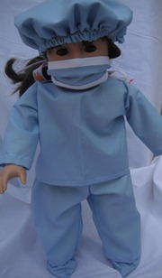 DOLL SCRUB SET MODEL