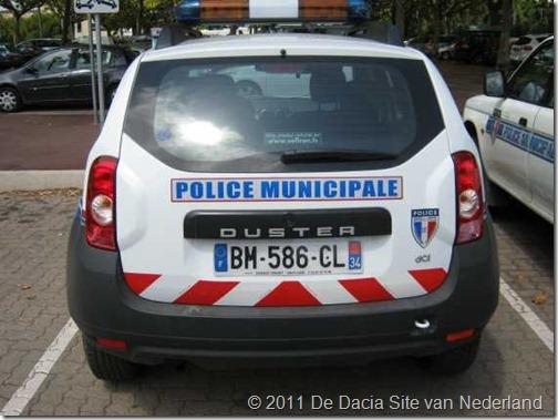 Dacia Duster Politie Frankrijk 02