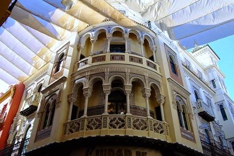 Fachada Ciudad de Londres Sevilla