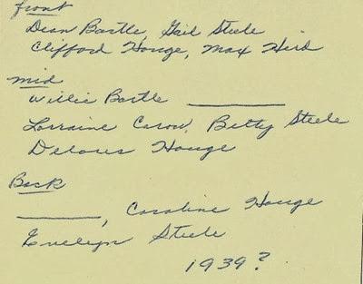 Max Hird Class 1939 Moorhead Antiques list