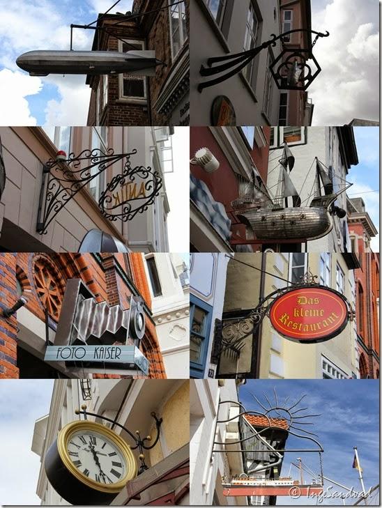 Gadeskilte i Flensborg