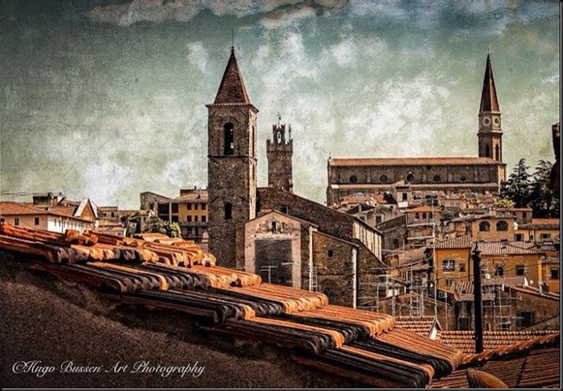 View over Arezzo