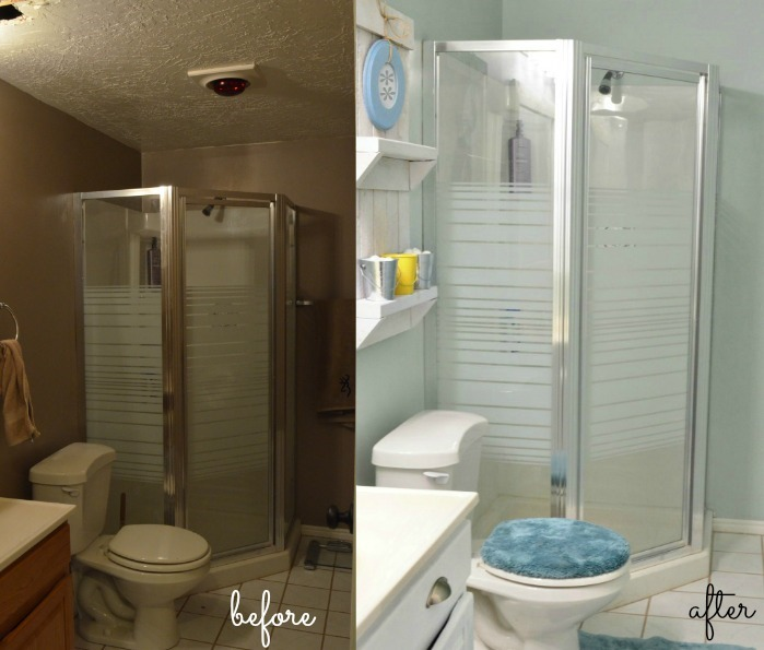 Before-After-Bathroom Makeover