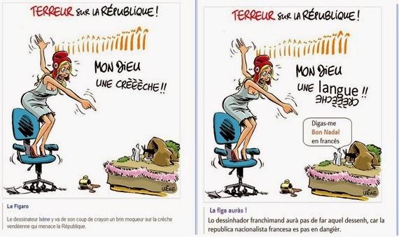 umor sul nacionalisme francés