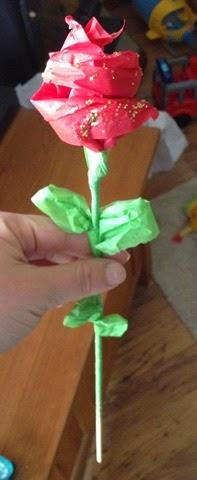 Hand made Rose