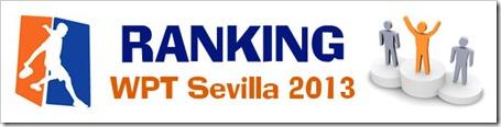 RANKING WPT 2013 SEVILLA
