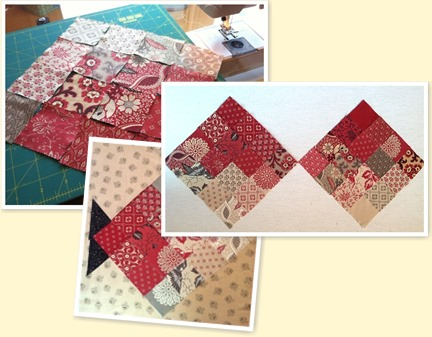Blogs From The Cabin Dakota Cabin Quilts Chateau Rouge Candy Dish