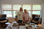 A Great Lunch At Patsy Pollack's House