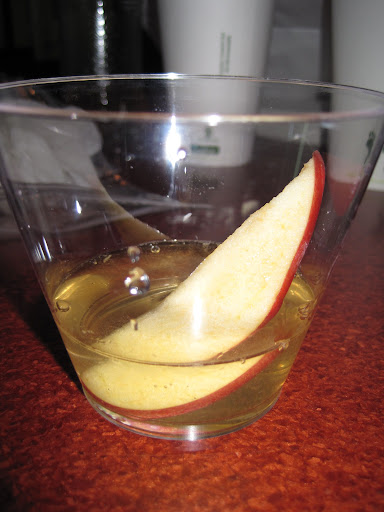 The Improved Apple Martini (served at Ventura's Offshore Cafe in Northfield, NJ)