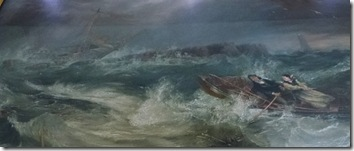 painting of grace darling on rescue