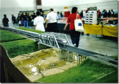 02 SOME Alumni Modular Layout at Train Fest in November 2002