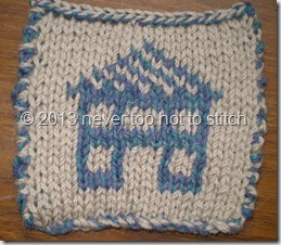 2013 double knitted coaster light ground