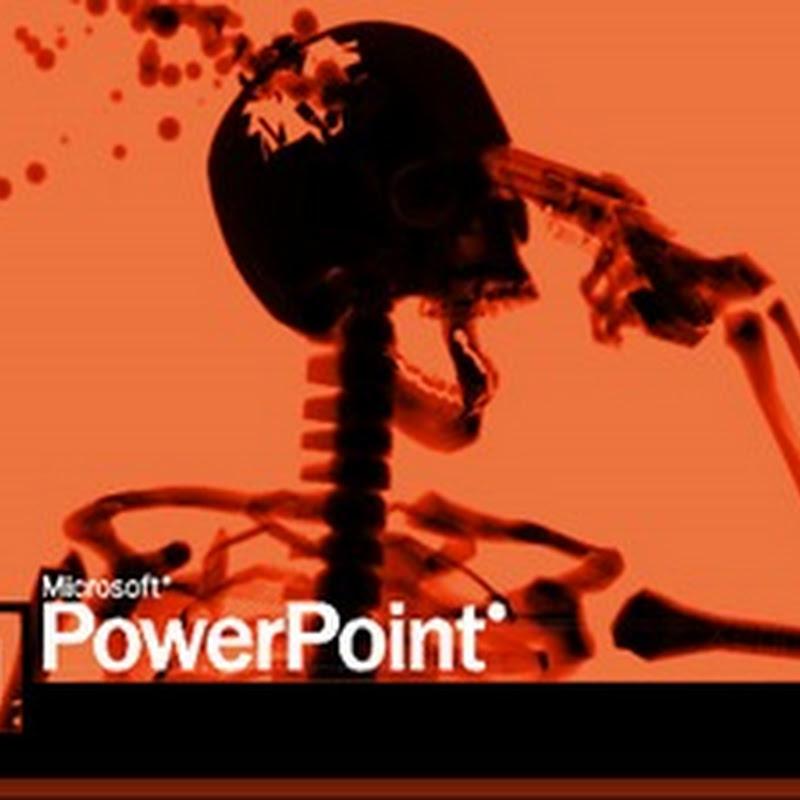 Những lỗi phổ biến trong trình bày bằng Powerpoint