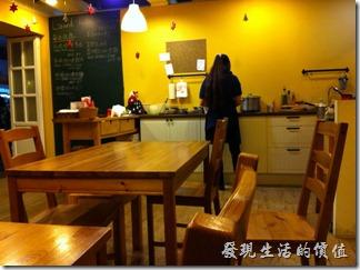 南港-蜥蜴廚房(LIZARD KITCHEN)餐廳內的景色。