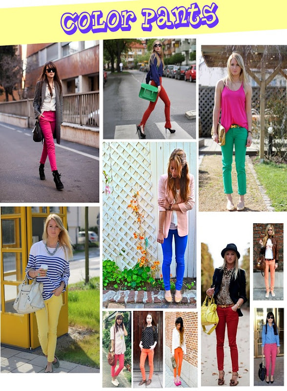 COLOR PANTS
