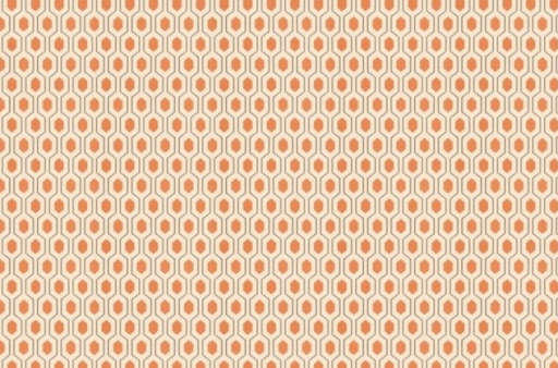 A statement-making orange fabric can be used for temporary and permanent decorations. A new set of pillows, a table runner, and window treatments can all me rotated seasonally or worked into existing arrangements. (www.calicocorners.com)