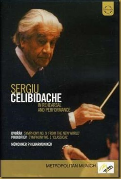 Celibidache DVD Prokofiev Dvorak