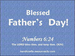 Verse of the day encouragement 2 quotes links believers encouragements christian happy fathers day card m4hsunfo