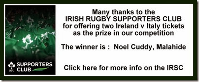 IRFU comp winner announcement