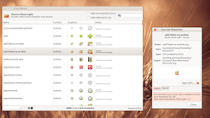 Icon Library in Ubuntu Linux